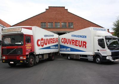 Verhuiswagens - Couvreur Roeselare